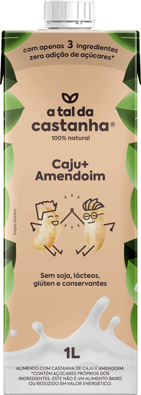 Bebida Caju+Amendoim