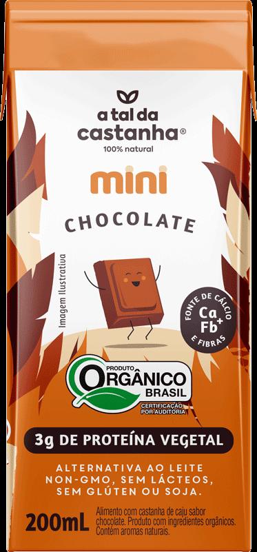 Mini sabor Chocolate Orgânico