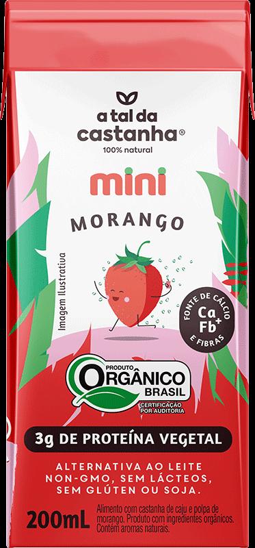 Mini sabor Morango Orgânico